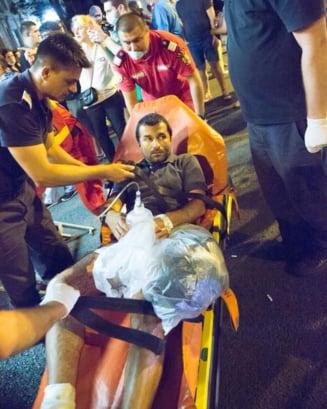 Marturia unui protestatar dupa 9 zile in spital: Nu mi-am imaginat ca va trebui sa-mi pazesc viata si pielea, ca o sa ajung pe masa de operatie. Imi iau costum de enduro si stau ca Batman in Piata Interviu