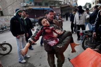 Masacru in Siria: Fortele guvernului Assad trag in tot ce misca