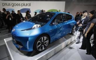 Masina Toyota cu cel mai redus consum de carburant - hibridul Prius C