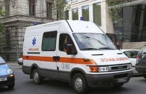 Masina ambasadei Rusiei s-a izbit de un stalp, pe Kiseleff