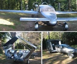 Masina care zboara si consuma mai putin (GALERIE FOTO)