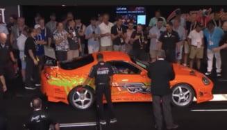 Masina folosita la filmarile din seria Fast&Furious, vanduta la licitatie cu o suma record VIDEO