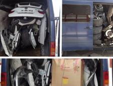 Masina furata cu duba din Italia