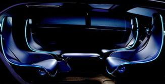Masina viitorului, o sufragerie pe patru roti (Video)