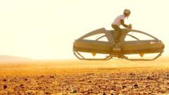 Masina zburatoare, ca in Razboiul Stelelor, in teste (Video)
