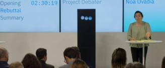 Masinarie versus om in primul concurs public de dezbateri: 1-1