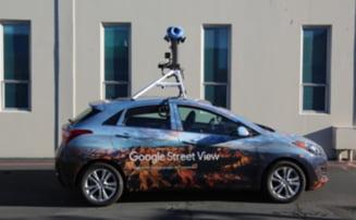 Masinile Google Street View, in Romania, de maine