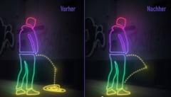 "Masura inedita impotriva barbatilor care urineaza pe strazi: Zidurile care ""riposteaza"" (Video)"