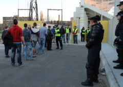 Masuri de ordine publica la meciul de fotbal Astra Giurgiu - Ceahlaul Piatra Neamt