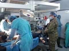 Masuri suplimentare dispuse de MApN pentru sprijinirea sistemului medical: locuri pentru pacientii Covid la spitalele din Sibiu si Iasi