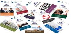 Materiale informative despre Serviciile Publice de Ocupare a Muncii - Proiectul FII INFORMAT!