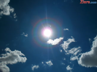 Maxime si minime absolute in iulie. Cea mai ridicata temperatura a fost de 44,3 grade, cea mai mica minus 8 grade