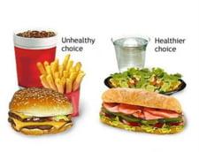McDonald''s catre angajatii sai: Nu mancati de la fast-food!