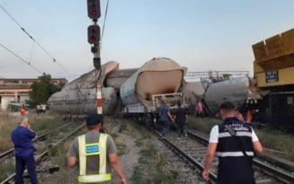 Mecanicul de locomotiva care a provocat deraierea unui marfar a fost retinut