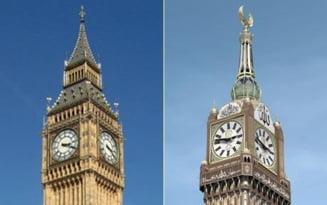Mecca are cel mai mare ceas din lume