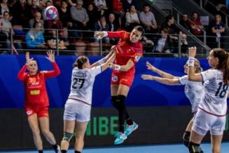 Meci de foc pentru nationala Romaniei la Campionatul European de handbal feminin