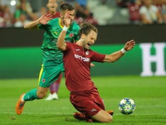 Meci decisiv pentru CFR Cluj in Liga Campionilor: Iata ce posturi TV transmit duelul cu Slavia