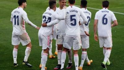 Meci dramatic pentru titlu in Spania, intre Real Madrid si Sevilla