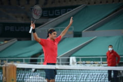 Meci epuizant pentru Roger Federer la Roland Garros