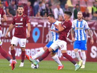 Meci fabulos în Liga 1! Cât s-a terminat Rapid - Universitatea Craiova