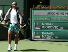 Meci superb intre Rafa Nadal si Novak Djokovici. Cine a avut castig de cauza la Indian Wells
