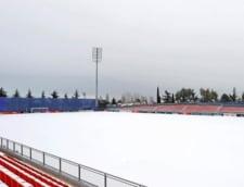 Meciul Atletico Madrid - Athletic Bilbao a fost amanat din cauza furtunii de zapada Filomena