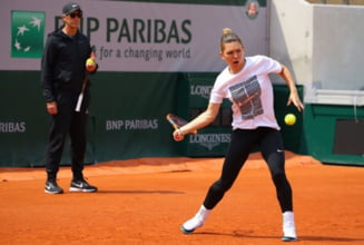 Meciul Simonei Halep de la Roland Garros, in pericol de a fi amanat