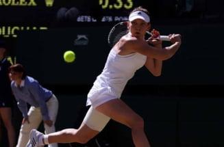 Meciul Simonei Halep de la Wimbledon, amanat de organizatori