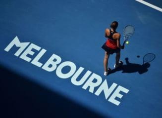 Meciuri de foc pe tabloul feminin de la Australian Open: Programul complet al zilei de luni