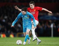 Meciurile jucate de Barcelona si Manchester in acest sezon al Ligii Campionilor