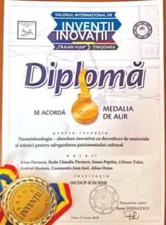 Medalie de aur pentru muzeul devean