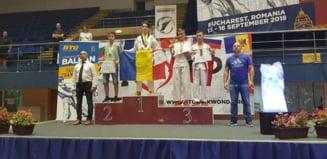 Medalii de aur la Campionatul Balcanic de Taekwondo obtinute de sportivii legitimati la CS Real Taekwondo Team Botosani - FOTO
