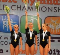 Medalii pretioase pentru Romania la Campionatele Mondiale de gimnastica aerobica