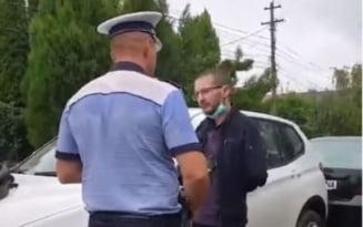 Medicul depistat beat criță în trafic, reținut după ce a condus cu permisul suspendat și a refuzat testul pentru alcool VIDEO