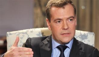 Medvedev, despre dosarul cu extraterestri pe care l-a primit Putin (Video)