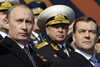 Medvedev a zburat cu un bombardier