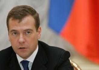 Medvedev catre Voronin: Exista sanse de rezolvarea a conflictului din Transnistria