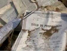 Mehedinti: Mii de documente cu date personale au ajuns la groapa de gunoi