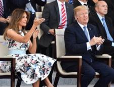 Melania si Donald Trump, Paris