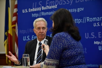 Melescanu anunta ca ambasadorul SUA in Romania va fi inlocuit de cineva care cunoaste limba romana