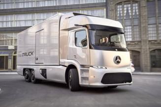 Mercedes-Benz a prezentat primul sau camion electric