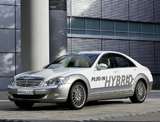 Mercedes-Benz vine cu un hibrid plug-in la Frankfurt