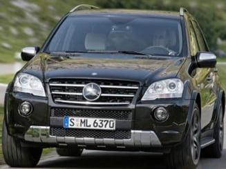 Mercedes a lansat doua editii speciale ale modelului ML 63 AMG