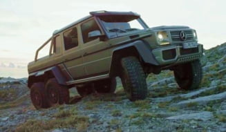 "Mercedes si-a scos ""monstrul"" 6X6 in offroad (Video)"