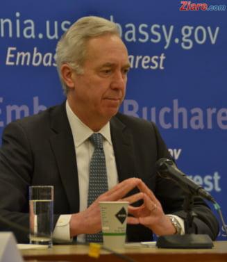 Mergem fara vize in SUA? Nu prea curand - ambasadorul Hans Klemm