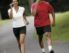 Mergi alert pentru a slabi