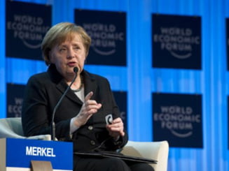 Merkel, Medvedev si Monti vor conduce Forumul Economic Mondial de la Davos