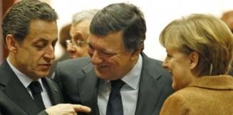 Merkel, cea mai apreciata, Sarkozy, cel mai impopular dintre liderii europeni
