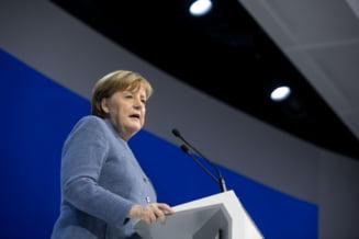 Merkel a fost aleasa cancelar pentru a patra oara, dupa sase luni de negocieri politice la Berlin
