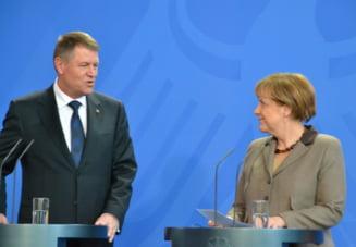 Merkel anunta o ruptura intre SUA si Europa. Prima reactie a presedintelui Iohannis